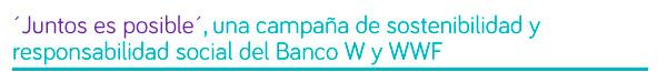 49786 - El Banco W da ejemplo de sensibilidad social en Colombia, con el efectivo apoyo a la población vulnerable