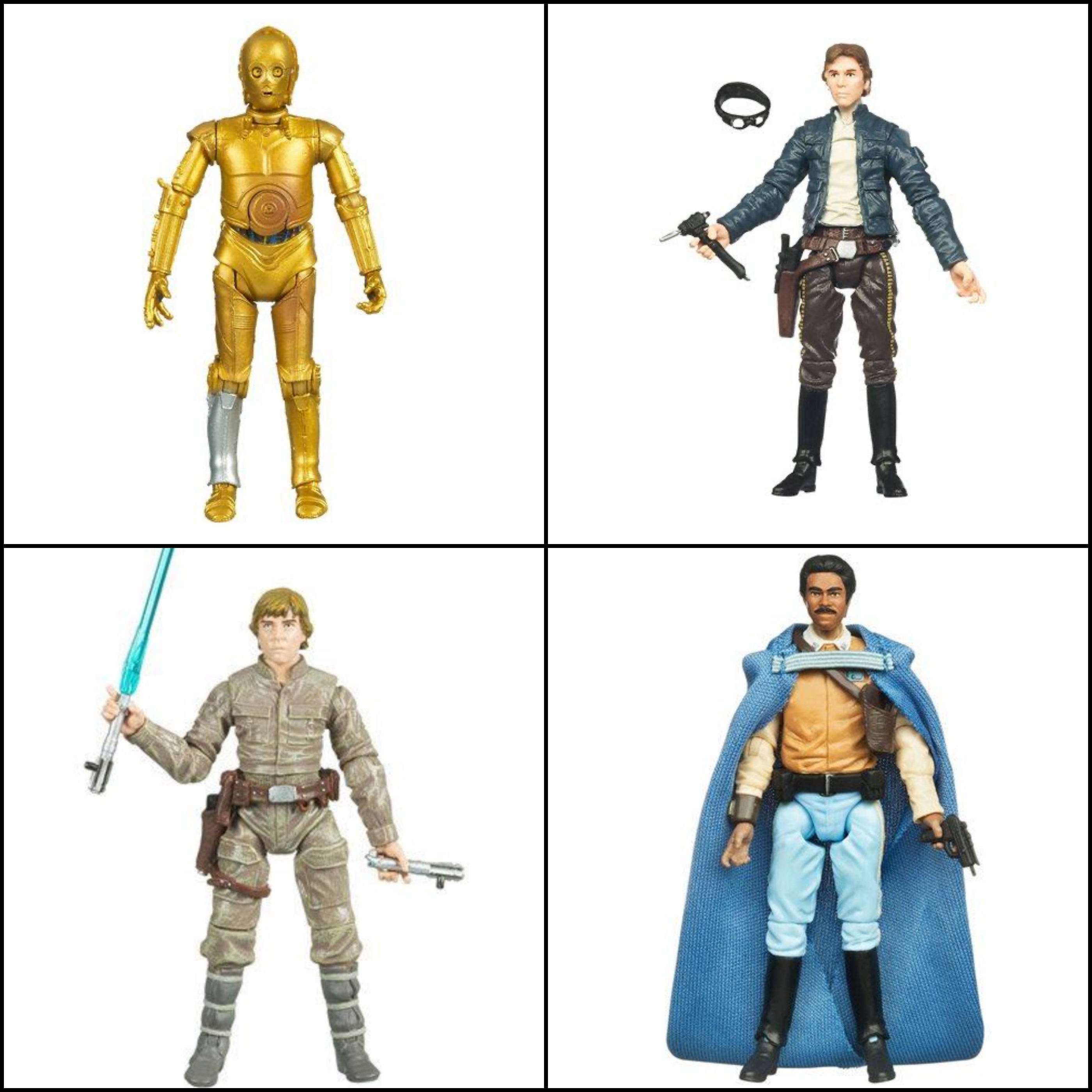 """Image of Star Wars The Vintage Collection Wave 4 (ROS) - Set of 4 3.75"""" Figures"""