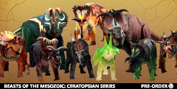 Beasts of the Mesozoic: Ceratopsian Series