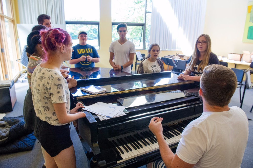 Vocal Ensemble Workshop Page