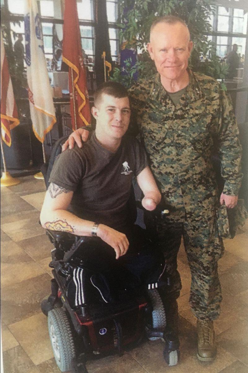 Lt Gen Lawrence Nicholson at Bethesda
