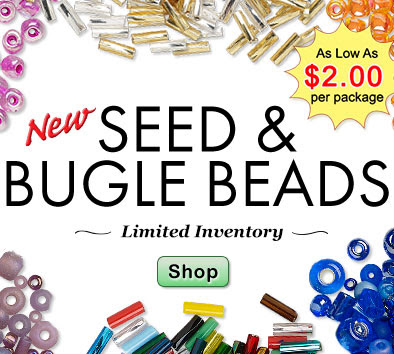 NEW Seed Beads - Starting at $...