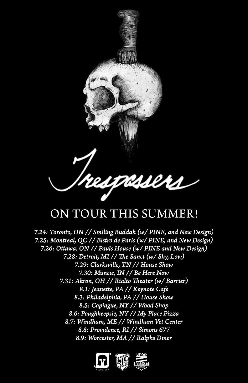 trespasers summer tour 2015