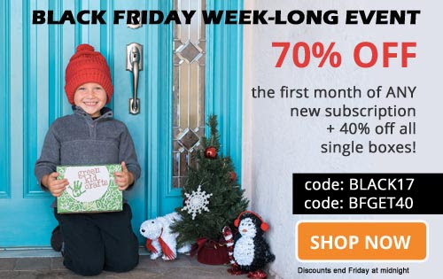 Green Kid Craft – Black Friday Week-Long Event 70% Off Coupon!