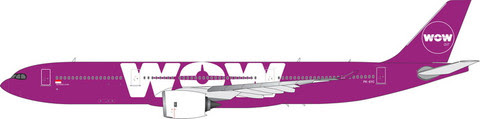 11595 | Phoenix 1:400 | Airbus A330-900 WOW Air PK-GYC | is due: January 2020