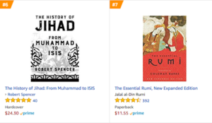 Robert Spencer's History of Jihad outselling Rumi…and the Qur'an!