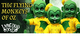 LDD THE WIZARD OF OZ FLYING MONKEY THREE PACK