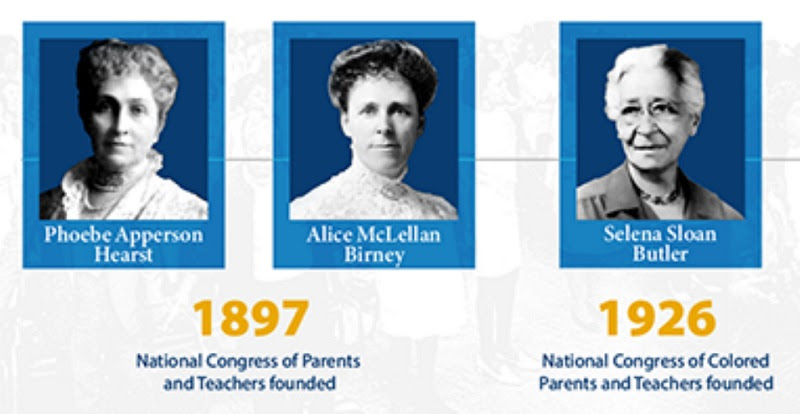 National PTA Founding Women