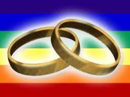 los anillos de bodas del arco iris