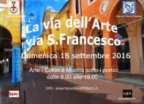 La Via dell'Arte-Via San Francesco. Terza edizione