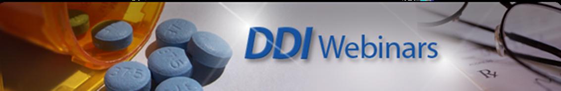 DDI webinars