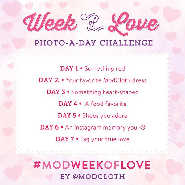 ModCloth Instagram Challenge.