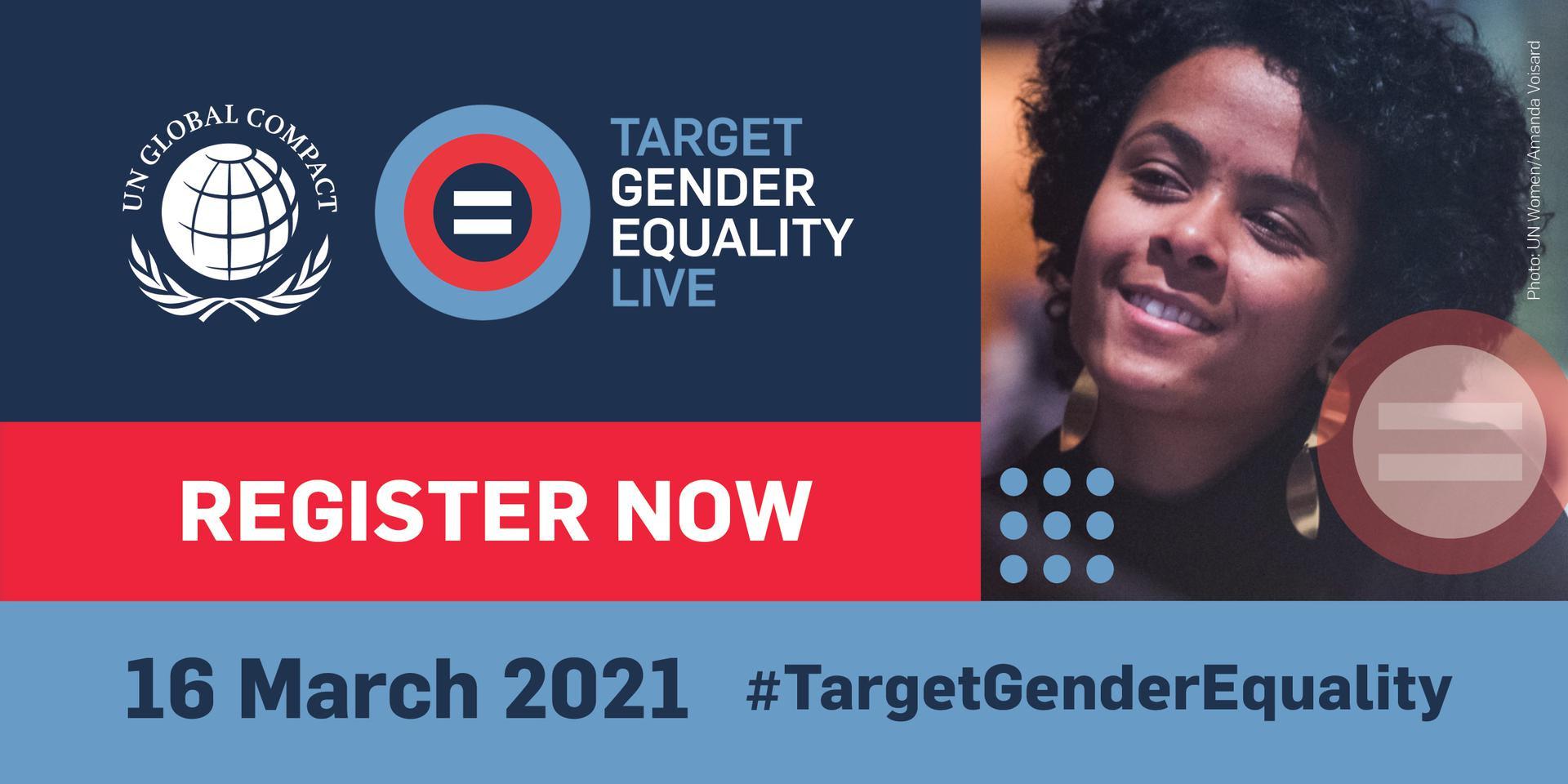 TARGET GENDER EQUALITY LIVE   16 March 2021