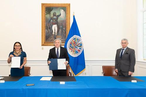 OEA y Ecuador cooperarán en materia electoral