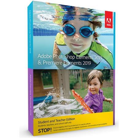 Photoshop Elements 2019 & Premiere Elements 2019, Student and Teacher Edition, DVD/Downloa