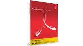 Adobe Acrobat Pro DC 2017