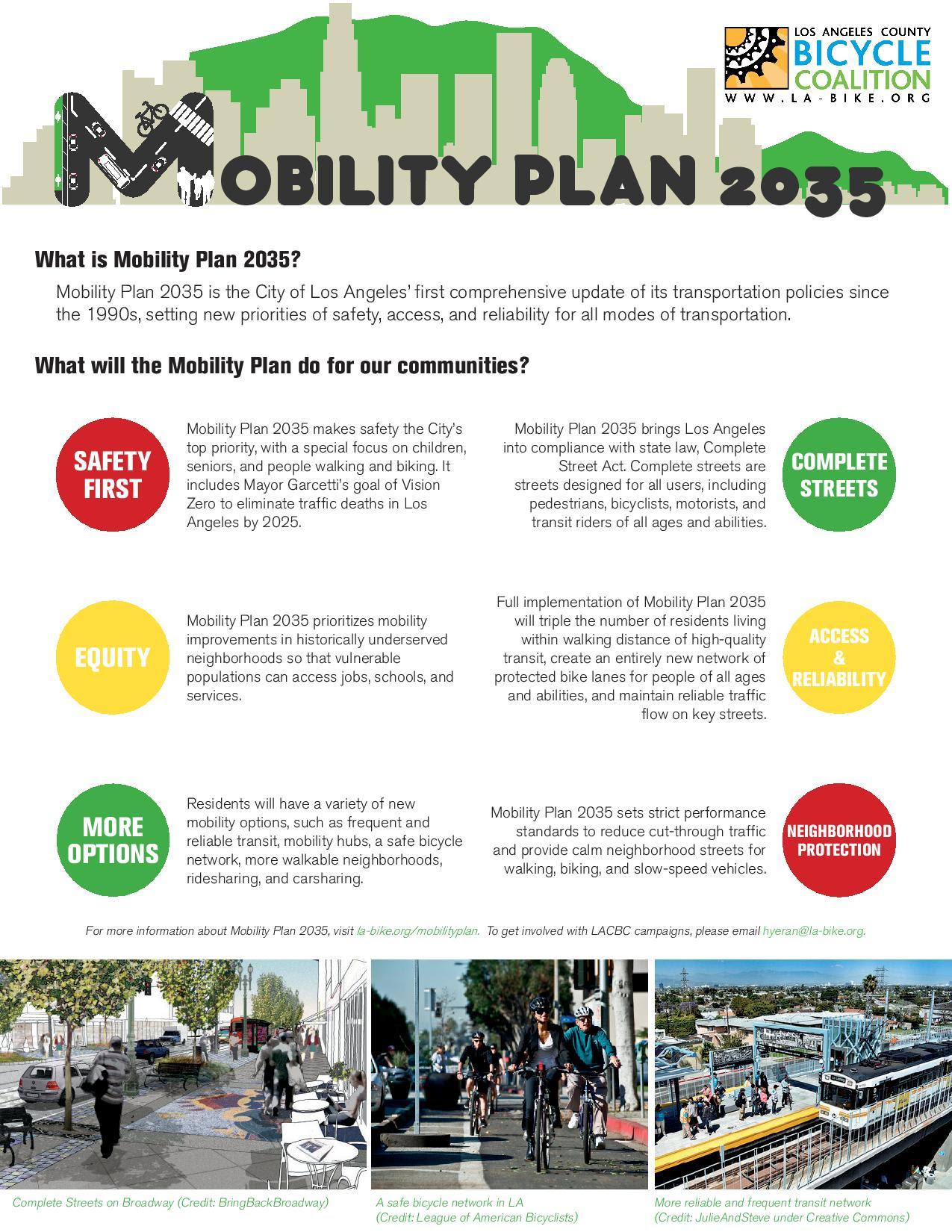 Mobility Plan 2035 LACBC