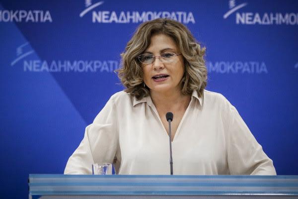 Τέλος από εκπρόσωπος Τύπου της ΝΔ η Μαρία Σπυράκη