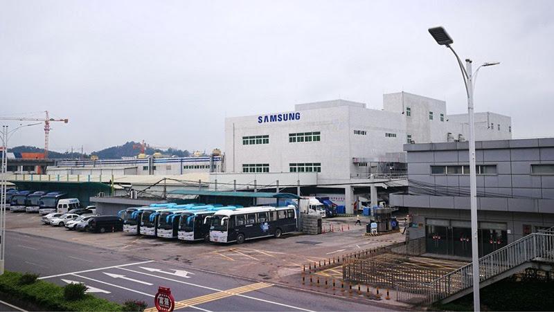 Nhà máy tại Huệ Châu của Samsung mở cửa vào tháng 8/1992.