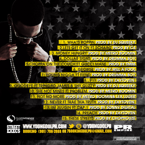 young dolph mixtape back
