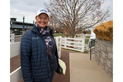 Renee Dailey at the Keeneland November Sale