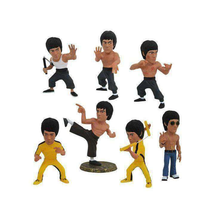 Image of Bruce Lee D-Formz Box of 12 Figures - MAY 2019