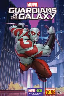 Marvel Universe Guardians of the Galaxy #13