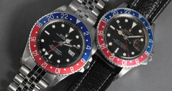 GMT Blue Red Vintage