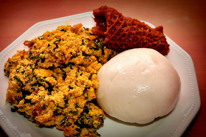Image result for pounded yam