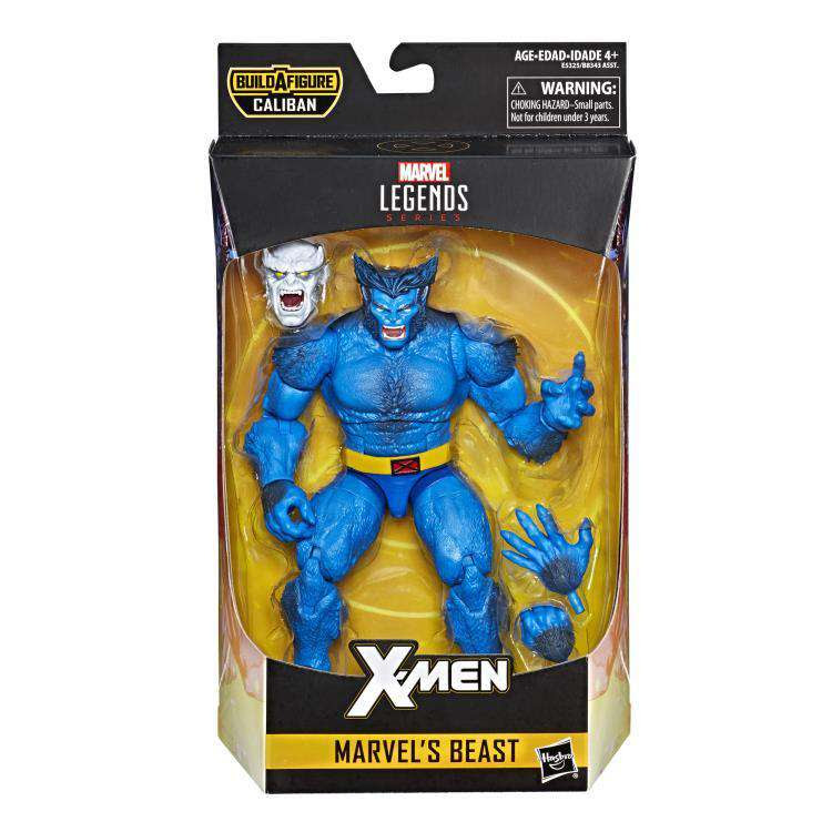 Image of X-Men Marvel Legends Marvel's Beast (Caliban BAF) - MAY 2019