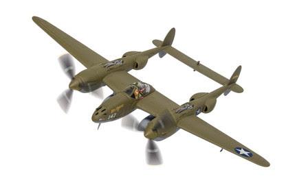 AA36615   Corgi 1:72   Lockheed P-38G Lightning 43-2264 Miss Virginia 339th FS 347th FG 'Operation Vengeance 1943