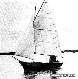Паруса для гребной лодки «Пелла»