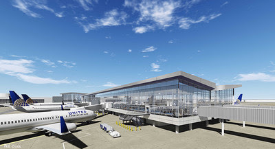United Airlines is building an all-new Terminal C North concourse at its Houston hub that will feature floor-to-ceiling windows offering soaring tarmac views, expansive gate-lounge areas and 20 new dining and retail options near boarding gates.