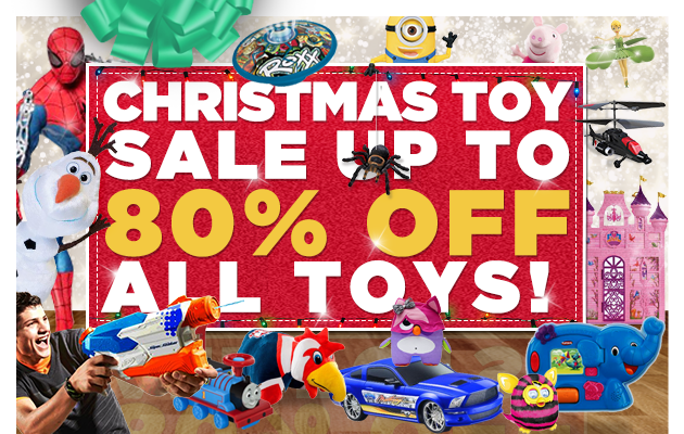 Christmas toy sale up to 80% off all toys at DealsDirect.com.au