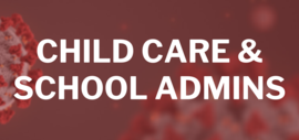 Child Care & School Admins Button