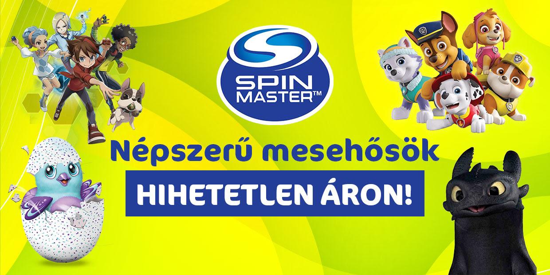 Spin Master akció!