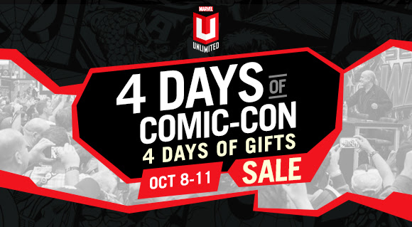 Marvel Unlimited - 4 Days of Comic Con!