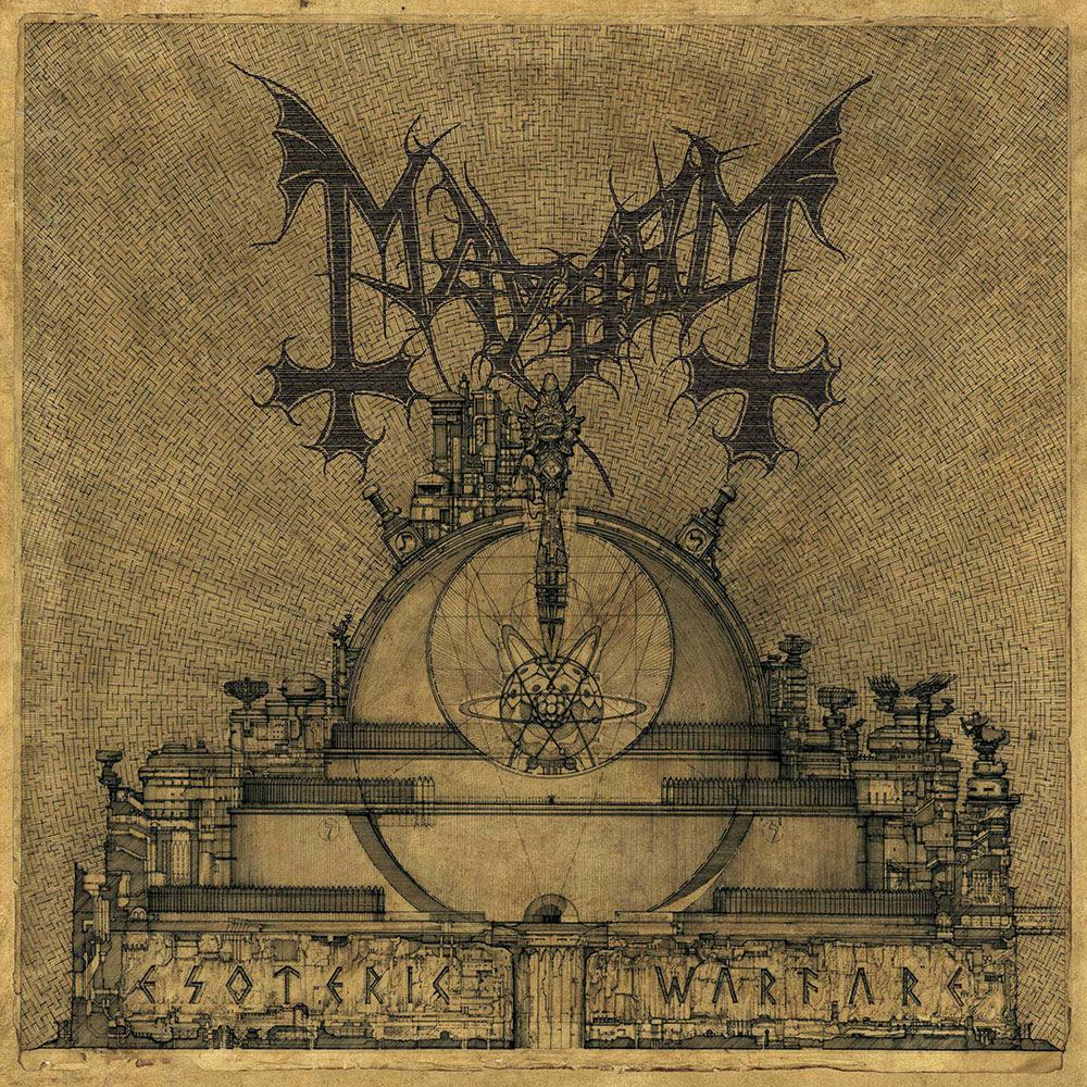 MAYHEM Esoteric Warfare cover