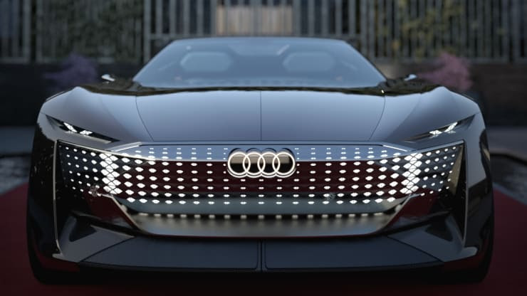 Audi's futuristic new roadster signals a fresh design direction for the automaker
