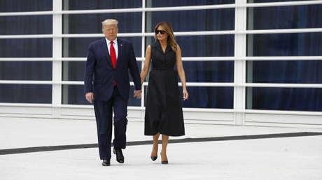 Melania Trump tardó en mudarse a la Casa Blanca para renegociar con su marido el acuerdo prenupcial