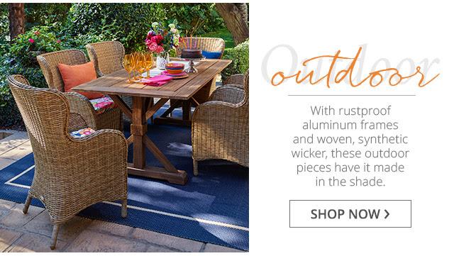 Outdoor Wicker: Shop Now