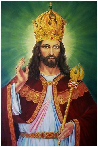 """Znalezione obrazy dla zapytania JEZUS CHRUSTUS KRÃ""""Å"""