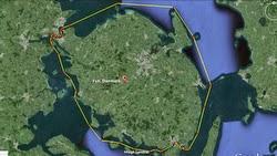 Silverrudder Challenge course- Island of Funen off Denmark
