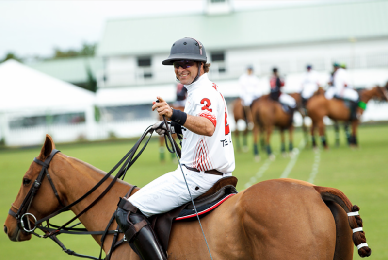 Brandon Phillips, co-chair of the event and non-Hodgkins lymphoma survivor, will play in the 24-goal polo match that will begin the Polo for a Purpose festivities on Monday, January 16, at 2pm