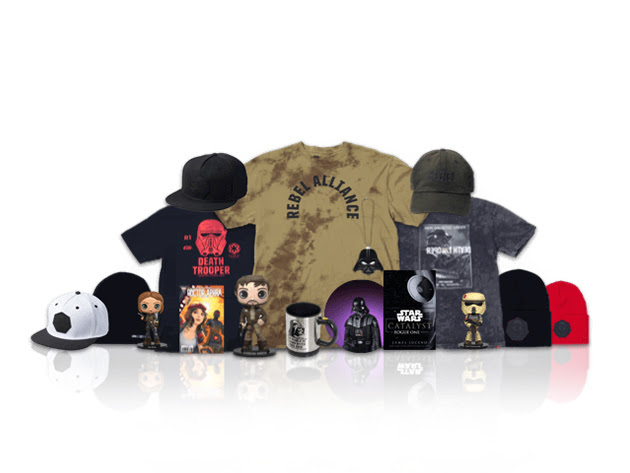 Rogue One: A Star Wars Story NEFF Collector's Box + Shirt