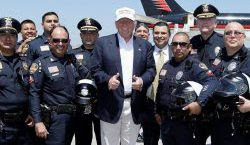 Trump Secures Law Enforcement Endorsements
