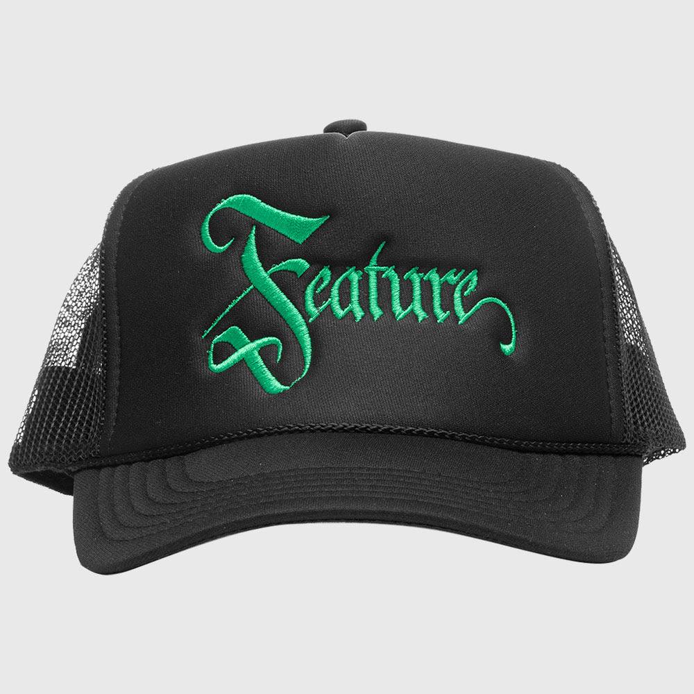 Feature Celtic Trucker - Black/Green