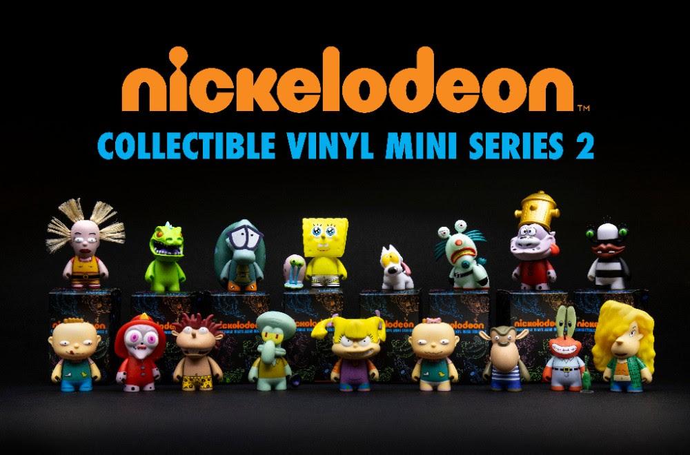 "Kidrobot NICKELODEON 90s Mini Series TOMMY 3/"" Vinyl Figure Nick Rugrats"