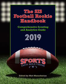 From Sports Info Solutions : The Rookie Football Handbook | Articles