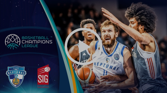 Neptunas Klaipeda v SIG Strasbourg - Highlights - Round of 16 - Basketball Champions League 2017-18